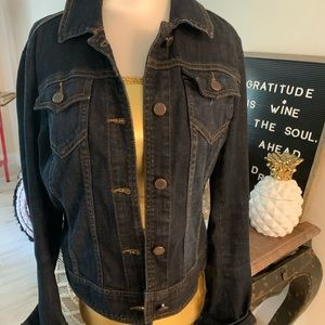 Denim Jean Jacket from The Limited